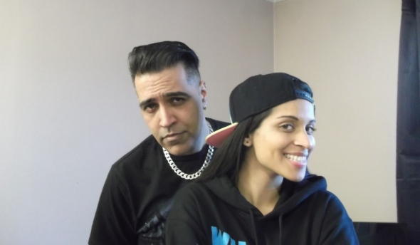 Sunny Grewal and Lilly Singh (aka Superwoman) talk movies JT8bp