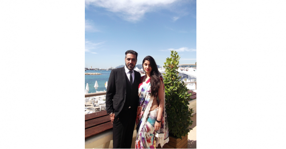 Cannes 2014 with Sunny & Shay
