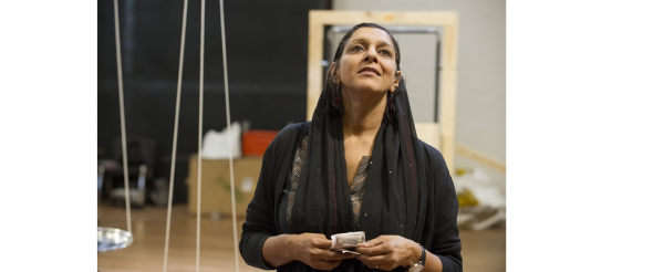 'Behind the Beautiful Forevers' – turning the stage into a slum