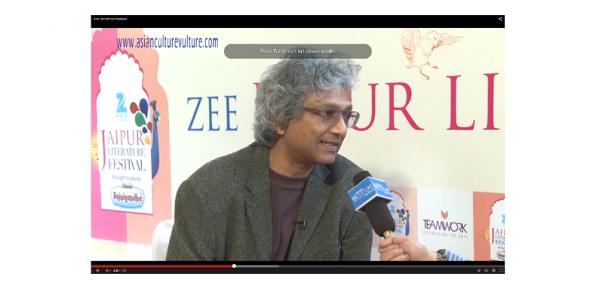 Romesh Gunesekera at the Jaipur Literature Festival 2015 (watch video, click below)