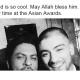 Shah Rukh Khan Zayn Malik tweet Asian Awards 2015