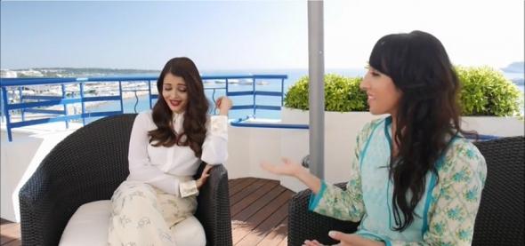 Aishwarya Rai Bachchan Cannes 2015 (video)