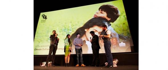 DDLJ: Real-life Raj and Simran unveiled at screening of iconic film