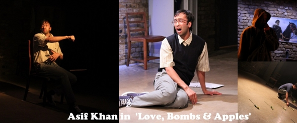 'Love, Bombs & Apples' – Four little shots to the funny bone …