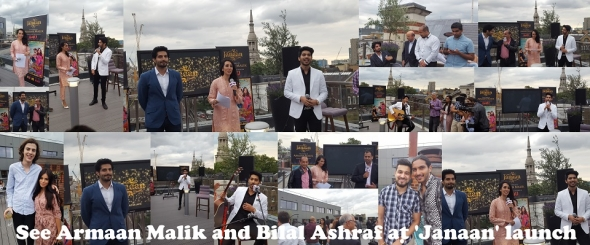 'Janaan': Singer Armaan Malik and Bilal Ashraf at London launch