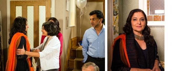 Kor (ma) BlimeySudha Bhuchar in peppery Corrie plot debut