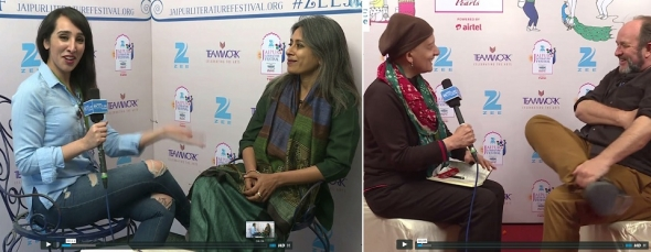 Jaipur Literature Festival 2017 coming – here's some interviews from 2016