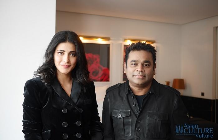 AR Rahman, Shruti Haasan and 'Sangamithra' team interview in Cannes 2017