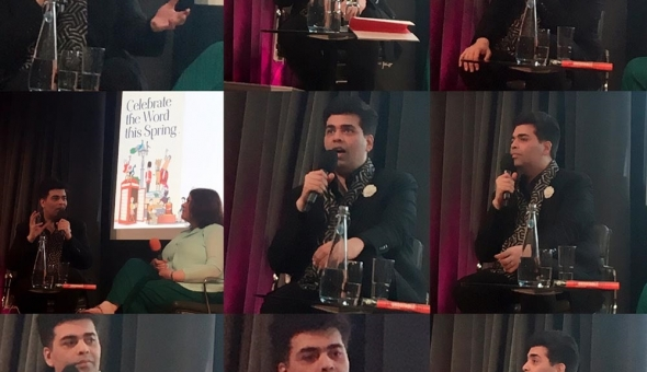 'An Unsuitable Boy' – Karan Johar opens up about life, art and surrogacy at JLF in London