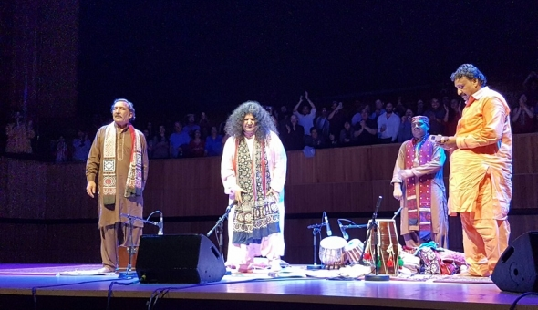 Alchemy 2017: Abdia Parveen – Sufi superstar has Royal Festival Hall in hypnotic rapture…