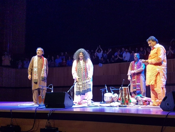 Alchemy 2017: Abdia Parveen – Sufi superstar has Royal Festival Hall in hypnotic rapture…
