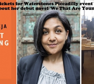 Join us for our very special book event – buy tickets £10 (book, drink, nibbles) Preti Taneja at Waterstones Piccadilly, Friday July 28 (click)