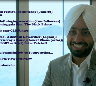 London Indian Film Festival 2017 opens today – see star interview with Satinder Sartaaj ('The Black Prince)