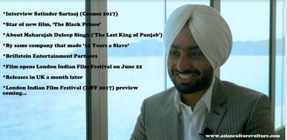 Satinder Sartaaj interview 'The Black Prince' (coming)