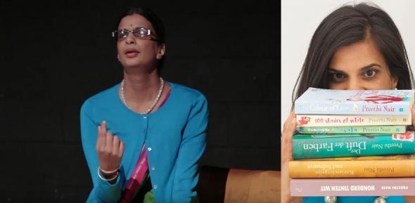 'Sari: The whole five yards' – the return of writer Preethi Nair