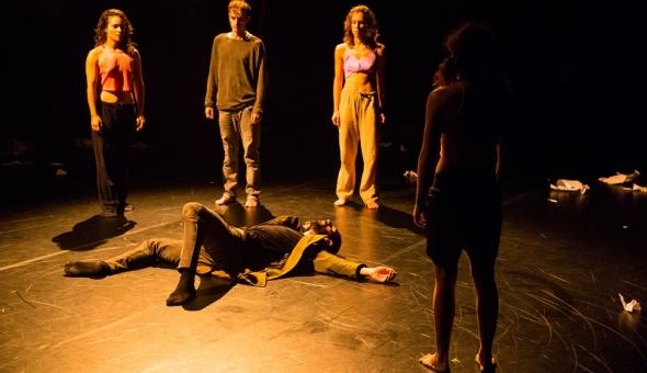 '#JeSuis' (dance) – Aakash Odedra – Humanity on the edge…