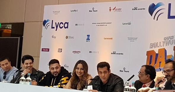 Salman Khan – Da-Bangg The UK tour Bollywood megastar turn…
