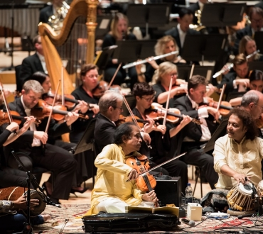 'Bharat Symphony' – fitting and glorious end to UK-India Year of Culture; shame about Queen and David Cameron… (review)