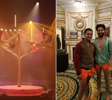'Mallakhamb India!' Bombay Boys make UK debut in 'La Soirée', a West End extravaganza…(interview)