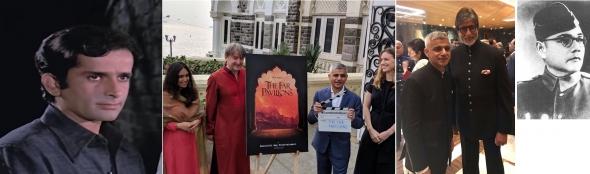 News bites: Screen legend Shashi Kapoor dies; ITV's £100m India historical drama; Mayor meets Bollywood stars and Sachin; Bengali Boses/Basus related to Bachchan (yes, Big B!)