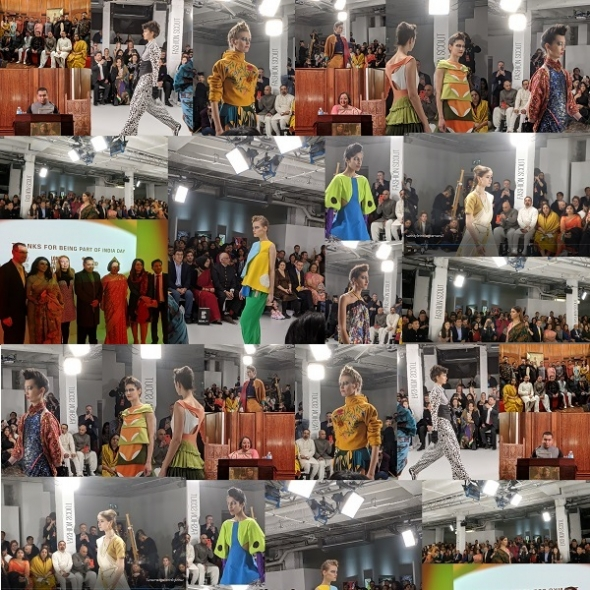 London Fashion Week 2020 India Day Sari Style And Young Indian Designers In A High Commission First Short Videos As Well Asian Culture Vulture